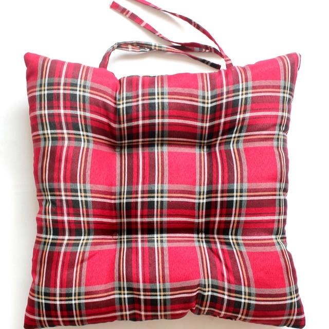 Exceptionnel Free Shipping Cheap Seat Cushion Plaid Design Chair Cushion