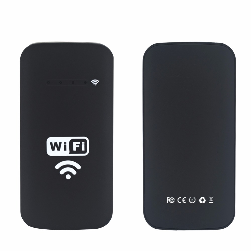 Wireless Wifi Box For Android USB Endoscope Camera Snake Camera2000mah Lithium Battery Support IOS Android PC WiFi Endoscope