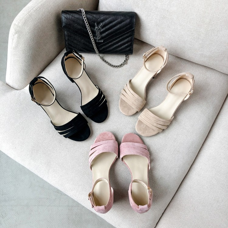 Big Size 9 10 11-16 high heels sandals women shoes woman summer ladies The open toe buckle is hollowBig Size 9 10 11-16 high heels sandals women shoes woman summer ladies The open toe buckle is hollow