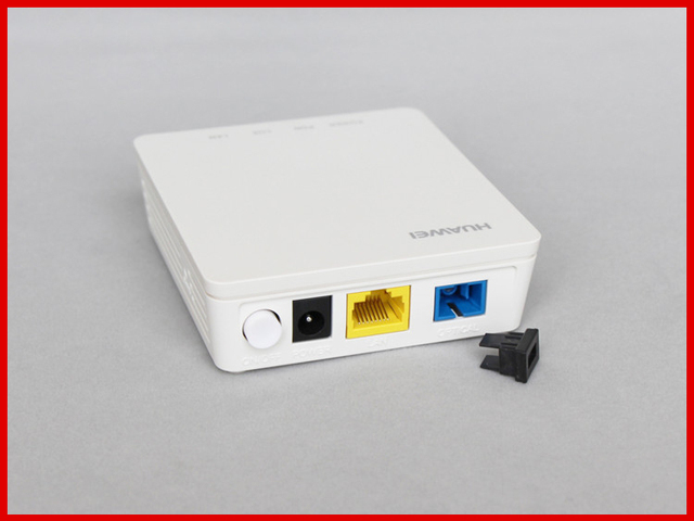 US $90 0  HG8010H EPON ONU ONT FTTH SFU Router Mode 1GE Lan Port EPON  terminal bridge 5 pieces a lot-in Fiber Optic Equipments from Cellphones &