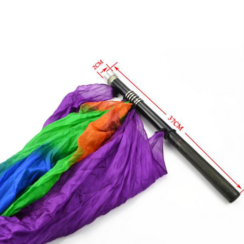 Pôle vide de haute qualité pour drapeau soie tours de magie scène magie accessoires de magicien professionnel - 2