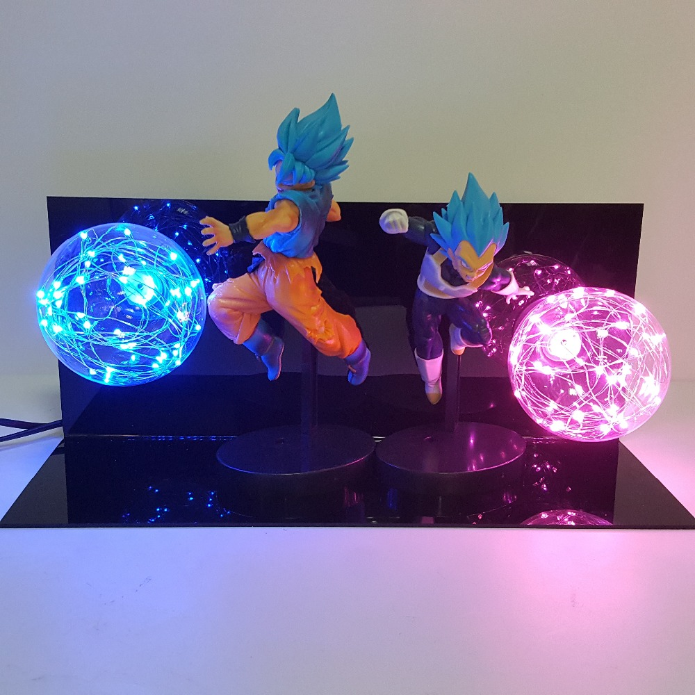 Dragon Ball Super lampe Goku Vegeta Kamehameha Galick GUN lampara Dragon Ball Z Goku Super Saiyan DBZ Led veilleuse lampe de bureauDragon Ball Super lampe Goku Vegeta Kamehameha Galick GUN lampara Dragon Ball Z Goku Super Saiyan DBZ Led veilleuse lampe de bureau
