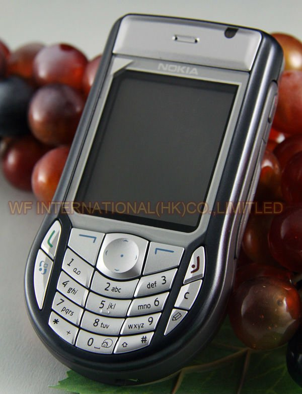 One Year Warranty Unlocked Original 3G Nokia 6630 Cell Phone
