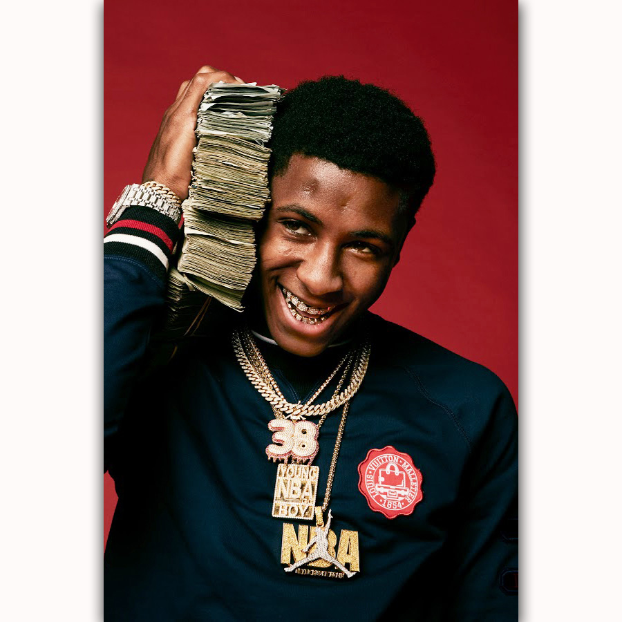 MQ3600 New YoungBoy Never Broke Again Rap Music Star Album