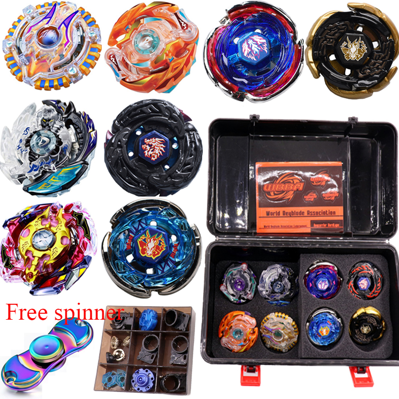 Beyblade set burst 8 bayblade+3 Launcher+2 Handle metal Fusion 4D Battle Game Toys Gift Bey blade blades toys for children топор fusion battle ax sog