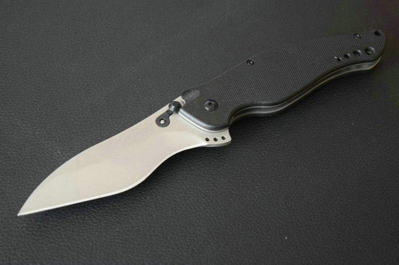 TRSKT 4035TIKVT 1595G10 1970 1920 1830 3655 1730SS Flipper Folding knife Hunting Camping Knives EDC Tool