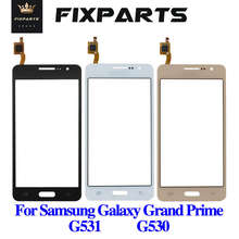 50 sztuk dla SAMSUNG G530 ekran dotykowy Panel szkło Digitizer G530 ekran dotykowy dla Samsung Galaxy wielki Prime G531 G530 Panel