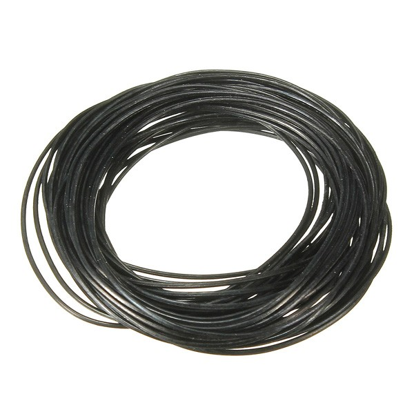 500pcs 0.8mm 31mm-40mm O Ring Rubber Seal Washers Waterproof Round Watch Gaskets