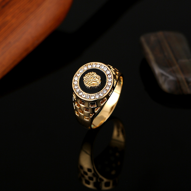 Men Gold Plated Ring