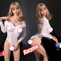 Jaden 166cm big size Full body real silicone sex dolls with Skeleton Adult toys Japanese TPE Love Doll For Men Realistic Vagina