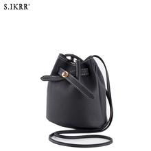 S.IKRR Spring and summer color matching ladies bucket bag womens purses handbags