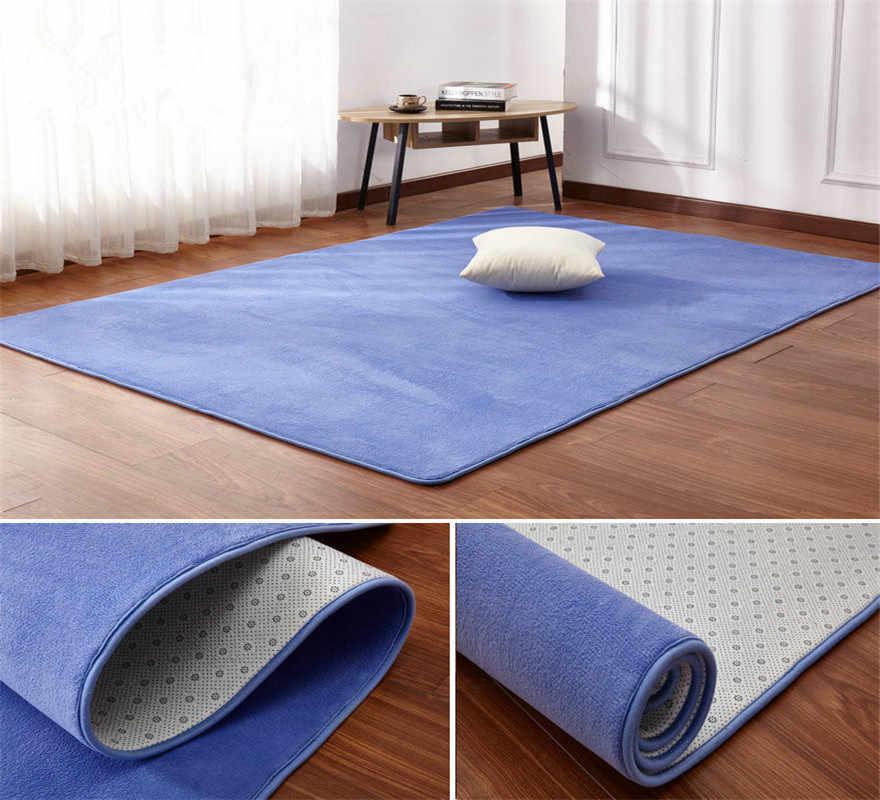 O envio gratuito de 60x120 cm engrossar quarto tapetes sala estar impressão cobertores casa banheiro almofadas tapete porta