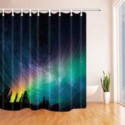 Poliester wodoodporny prysznic kurtyna zasłona prysznicowa gwiaździsta gwiazda