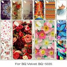 TAOYUNXI Soft Case For BQ-5035 BQ 5035 Anti-knock Case For BQ Velvet Rose Flower Cover For BQ-5035 BQ 5035 Cases Silicon
