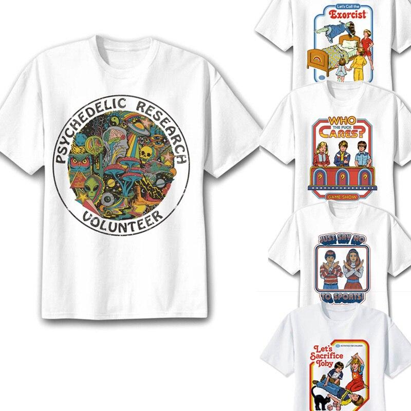 Satan t-shirt männer dämon tod scary böse lustige alien sensenmann T-shirt supernatura männlichen/frauen t-shirt american horror geschichte