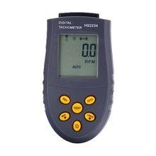Novo 1 pc Medidor De Velocidade De Rotação Digital Photo Laser Tacômetro RPM  LCD Teste Pequeno Motor Motor de Não-contato de Med. 2ea161616b