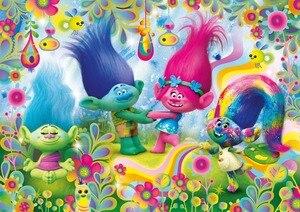 Image 4 - Sensfun trolle Cupcake tęcze zdjęcie tła Cartoon tkanina winylowa zdjęcia tła dla zdjęć Studio 5x3ft