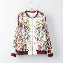 Spring and autumn casual jacket, free shipping silk pocket zipper collar long-sleeved women's uniform