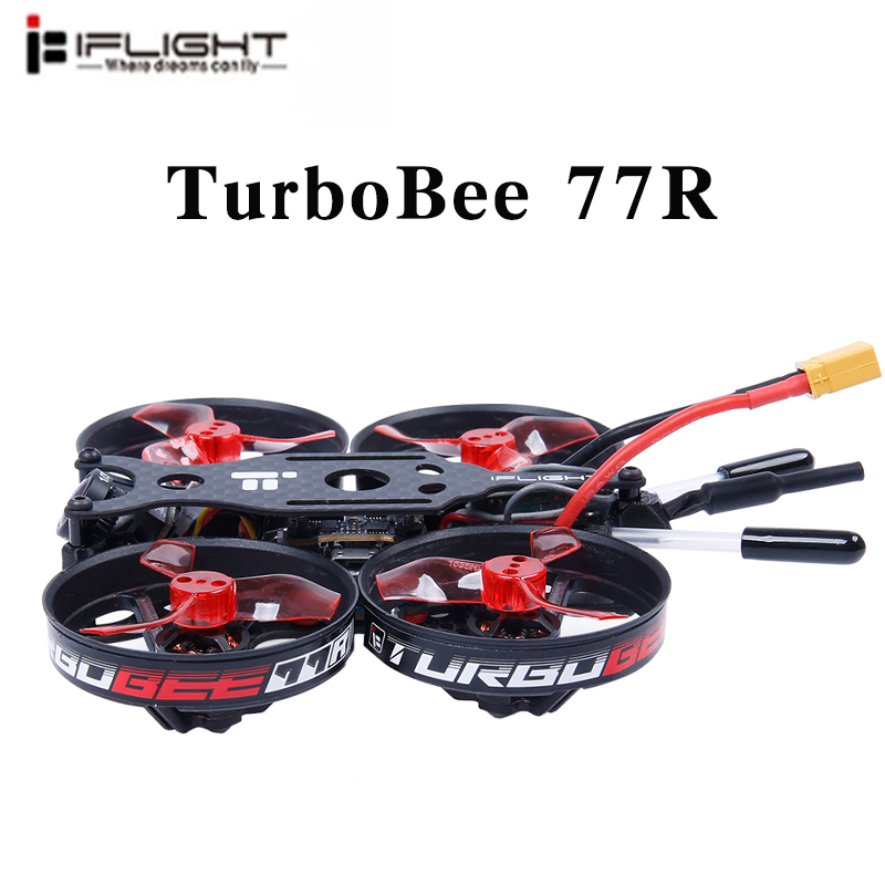 iFlight TurboBee 77R 2 4S FPV Racing Whoop RC Drone SucceX Micro F4 12A 200mW Turbo Eos2 PNP BNF-in Parts & Accessories from Toys & Hobbies