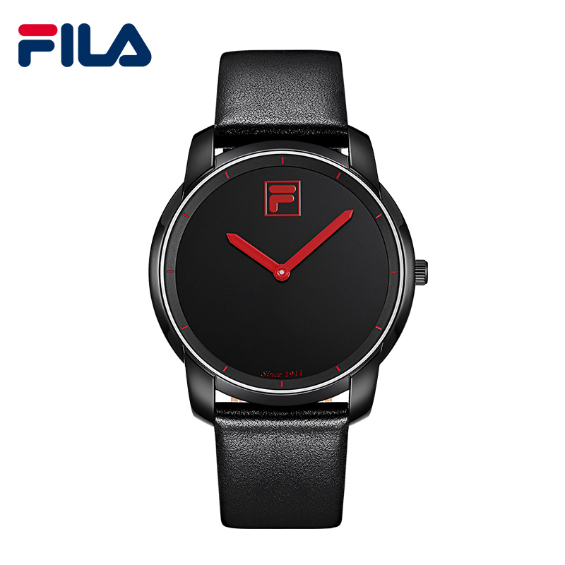 Fila Top High Quality Luxury Brand Simple Style Fashion Casual Quartz Men Waterproof Watch Sports Leather Strap Wristwatch38-790  high quality 30 m waterproof effort new men fashion luxury famous brand men s leather strap sports watch multi time zones