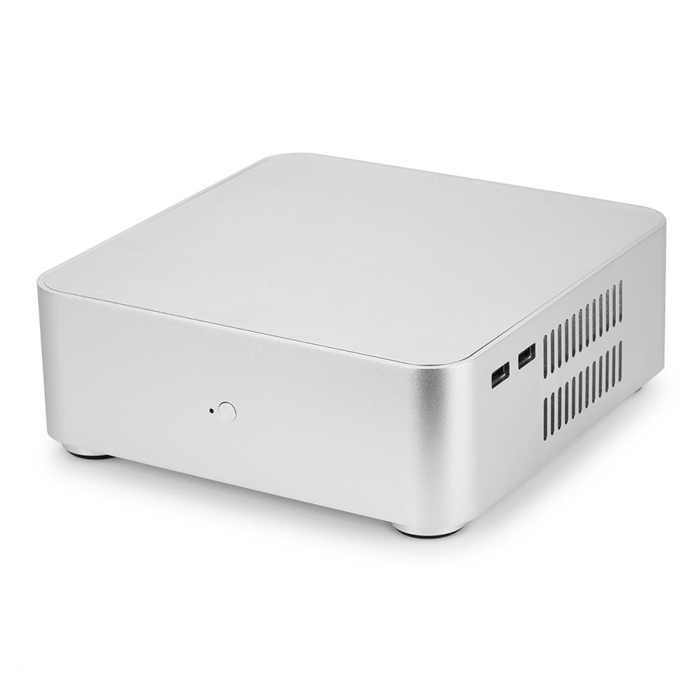 Desktop Mini PC Case Aluminum Alloy HTPC Case High Quilty 1
