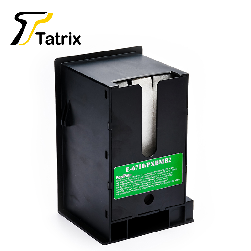 1PK For T6710 Waste Ink Container With Chip Use For WorkForce WF 7110 Inkjet Printer 3620 3640 3641 7111 7610 7620 7621 PX M5040-in Ink Cartridges from Computer & Office on AliExpress - 11.11_Double 11_Singles' Day 1