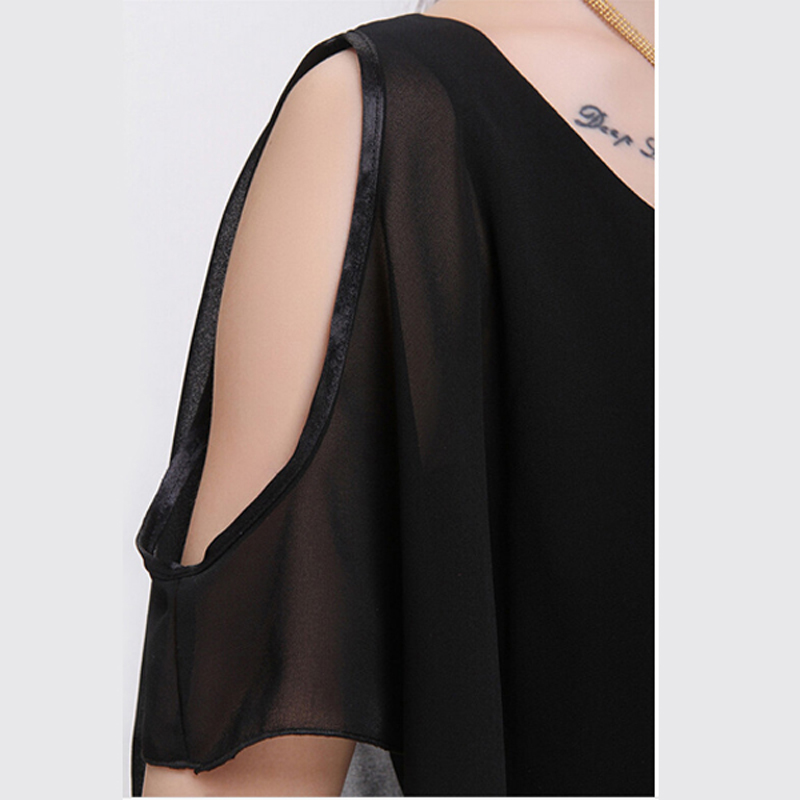 2017 New Chiffon Dress Women Summer Casual Faux Tiwnset Styles Girl Slim Pink Dress Comfortable Lady vestidos S3391