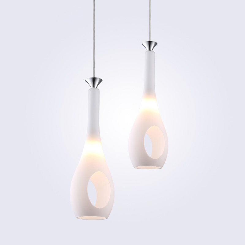 Pendentif LED moderne lumières pour la maison verre abat-jour lampes suspendues chambre lampe pendentif éclairage pour Restaurants/salle à manger E27