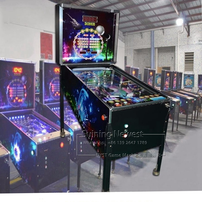 High Quality NYST Suining Newest Amusement Equipment Arcade Games Token Coin Operated Pinball Machine image