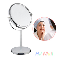 3X Magnification LED Light Lamp Makeup Power Bank Double Side Foldable Mirror