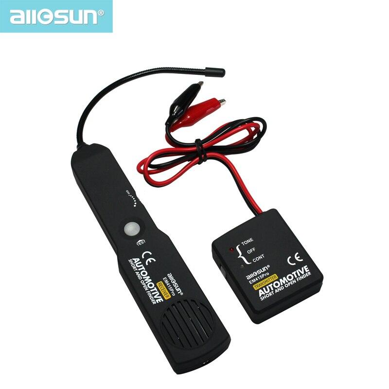 Alle-Sonne EM415pro Automotive Tester Kabel Draht Kurze Open Finder Reparatur Werkzeug Tester Auto Tracer Diagnose Tone Linie Finder