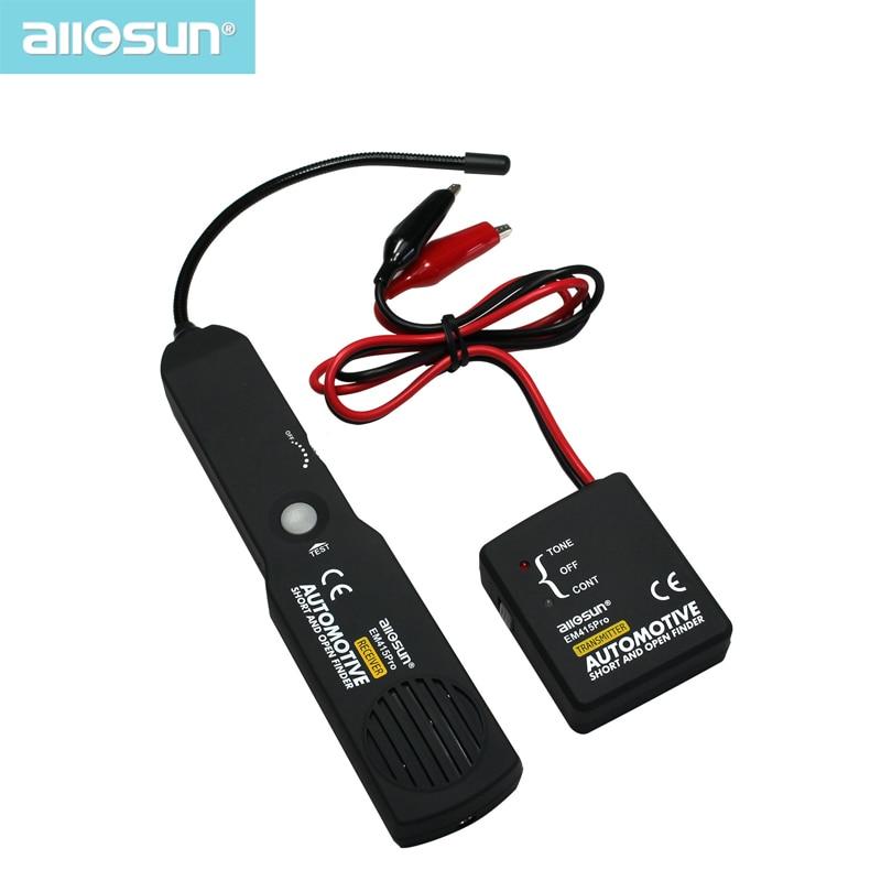 all-sun EM415pro רכב בודק כבל חוט קצר פתוח Finder תיקון כלי בוחן נותב מכונית לאבחן טון קו Finder