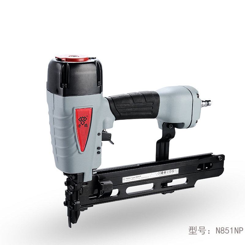 цена на N851NP Large Special Pneumatic Nail Gun Air Nailer Pneumatic Nailing Gun Woodworking Stapler 25-51mm