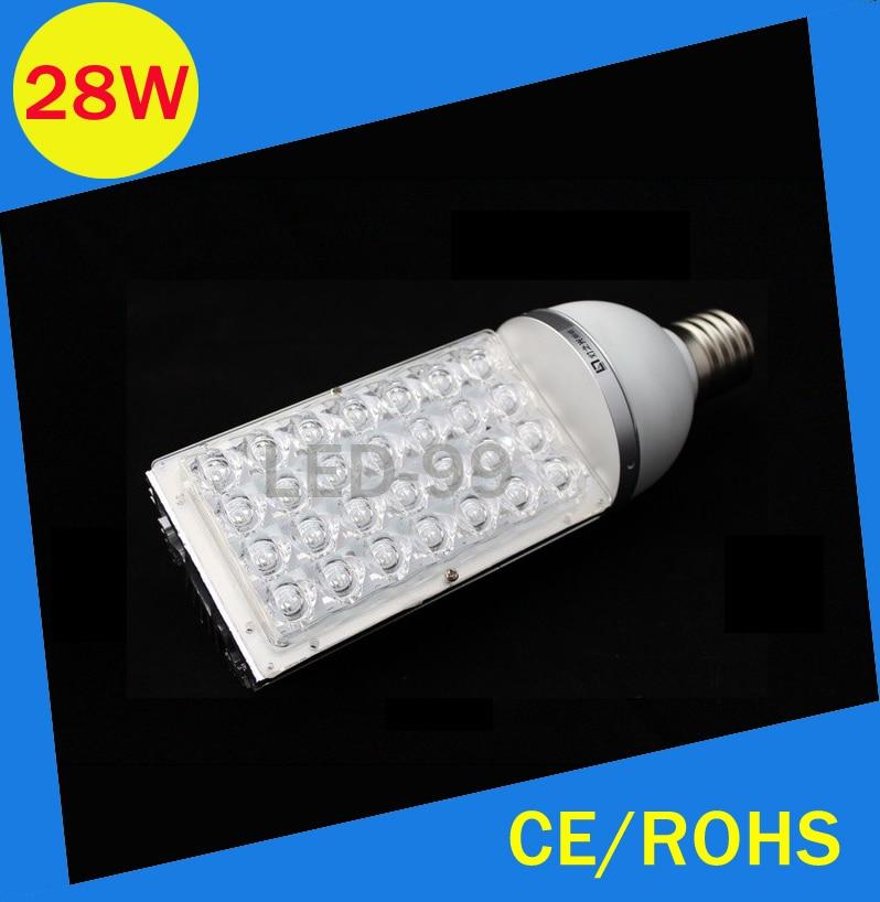 E40 28W LED street light high power Road lamp AC100~240V 28w  Garden lighting source road lighting lamps