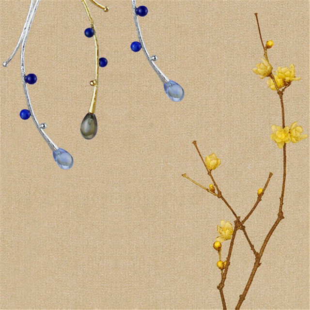 Ethnic Tree Design Earrings