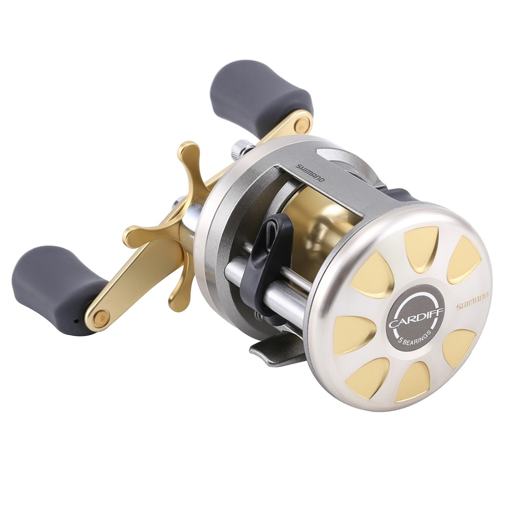 10865877928 New Shimano Cardiff 200A 201A 300A 301A 400A 401A Baitcasting Fishing Reel  4+1BB 5.8:1 Saltwater TROLLING Drum Fishing reel -in Fishing Reels from  Sports ...