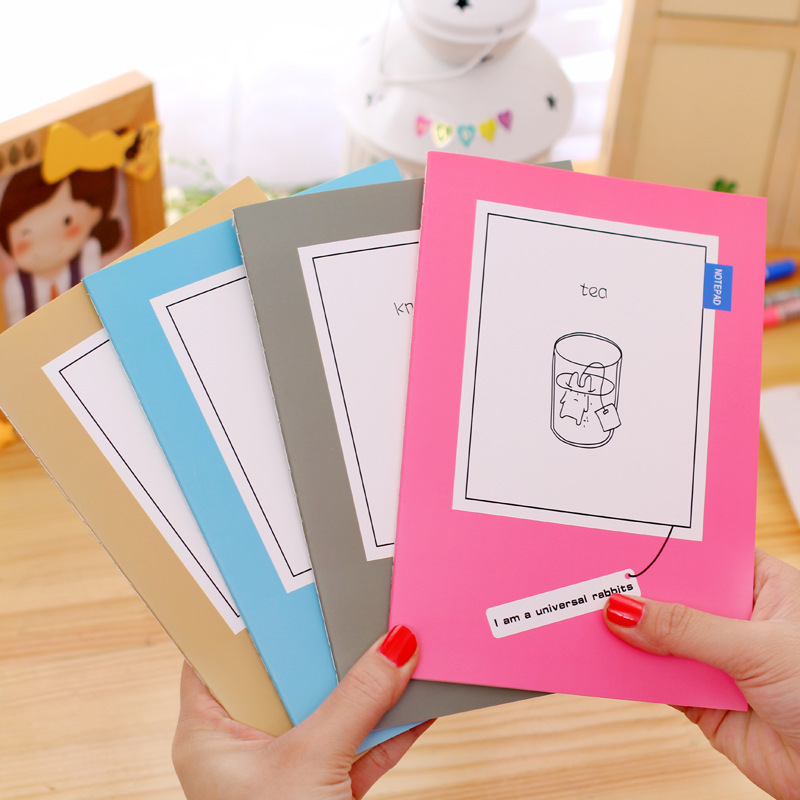 MINI Rabbit Series30 sheet  A5 notebook Notepad Diary Book Journal Record Kawaii Stationery Office School Supplies