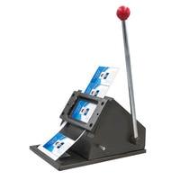 GUYX 86 * 54 Desktop rounded card machine Manual pvc card machine Paper cutter Business card cut