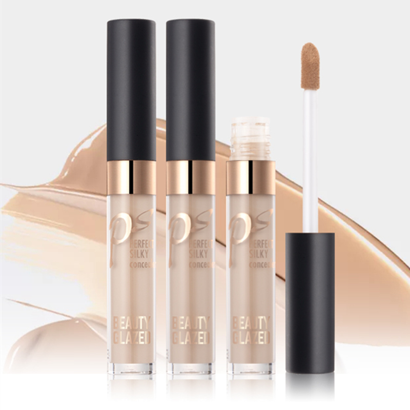2018 Beauty Glazed Makeup Concealer Liquid concealer Convenient Pro eye concealer cream New Hot Sale Makeup Brushes foundation (China)