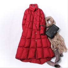 Women Fashion Irregular Cotton Padded Parkas Women's Winter Long Quilted Coat M-3XL free shipping 2017 winter in the new dress suits brought long cotton padded clothes woman coat quilted jacket s 3xl