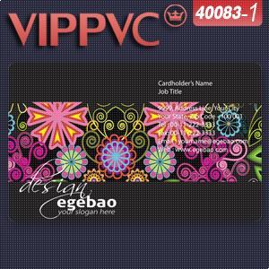 Visitenkarten A40083-1 Eine Konfrontiert Pvc Weiß Kunststoff Visitenkarte Vorlage Für Visitenkarte 0,38mm Gute QualitäT