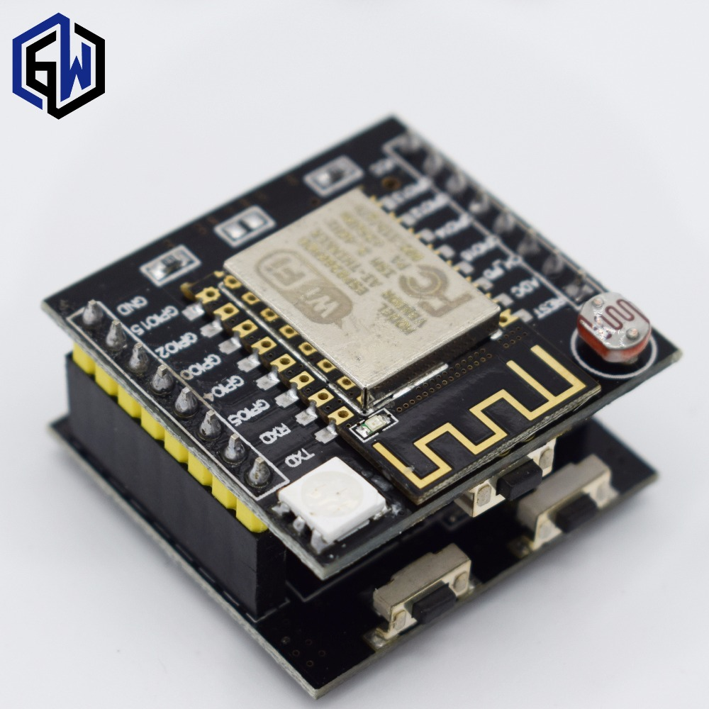 TENSTAR ROBOT JZY 10pcs ESP8266 serial WIFI Witty cloud Development Board ESP-12F module MINI nodemcu