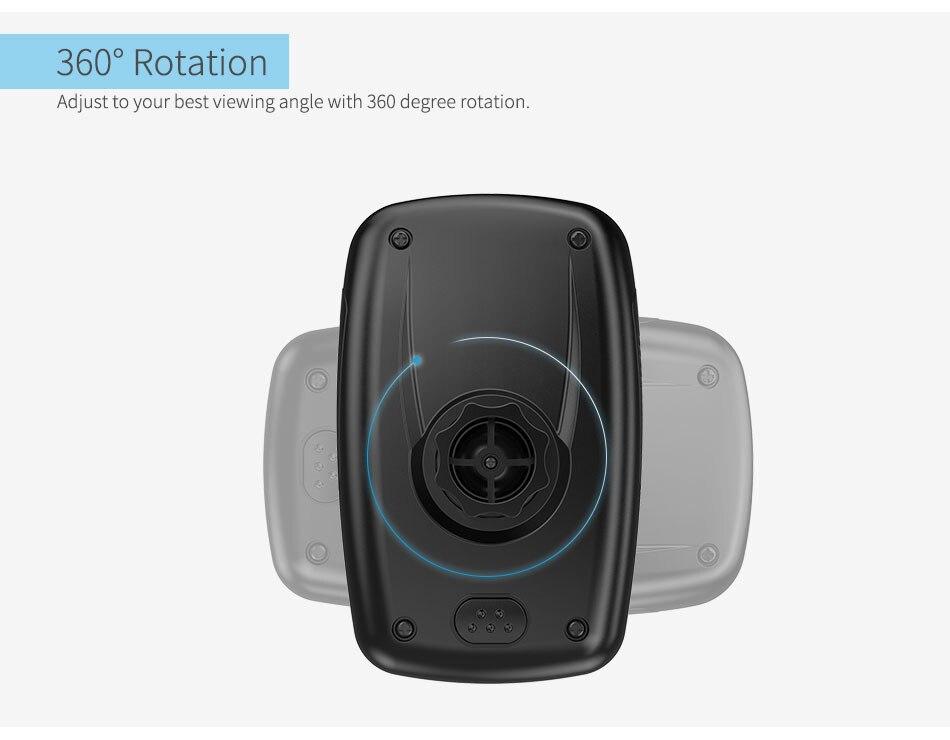 מחזיק רכב אוניברסלי,אוורור, טלפון חכם בעל הר 360 תואר סיבוב עבור Google פיקסל XL iPhone 7 6 5 Xiaomi Mi5 ועוד