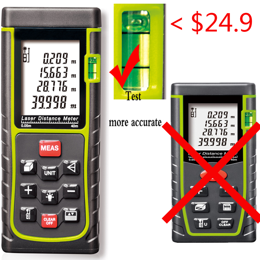 Digital Distance Measuring Instruments : Aliexpress buy handheld rangefinder laser distance