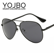 mens designer sunglasses clearance wvx1  YOJBO Men Polarized Sunglasses Alloy Brand Designer Mirror Sun Glasses 2017  Women Driving Cheap Black So