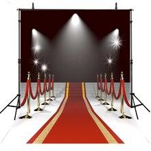Cenários de Fotografia Vinil Pano de Fundo Para a Fotografia de Casamento Do Tapete vermelho Estrela Faisca Hollywood Fundo Para Photo Studio