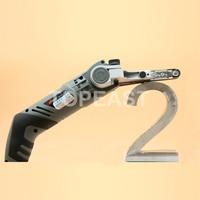 220v EU Plug Mini Room Portable Metal Word Wood Metal Tube Metal Fence Polished Trimmer Tool