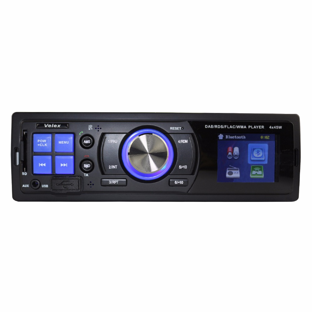 bluetooth car dab radio usb mp3 music sound stereo system digital media receiver car audio. Black Bedroom Furniture Sets. Home Design Ideas