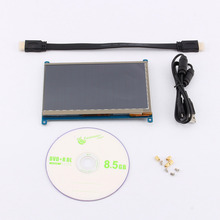 7″ inch Capacitive 800×480 HDMI LCD Touch Screen Display TFT Monitor For Raspberry Pi B/B+/Pi2