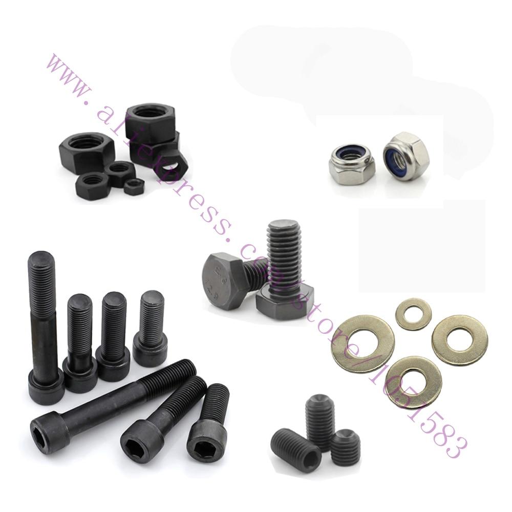 DIY 3D Printer parts Prusa Mendel i2 Fasteners-Screws Bolts+ Nuts+ Washers, Reprap Prusa Mendel i2 Hardware Kit reprap prusa mendel diy 3d printer robot main control chip atmega1284p au black